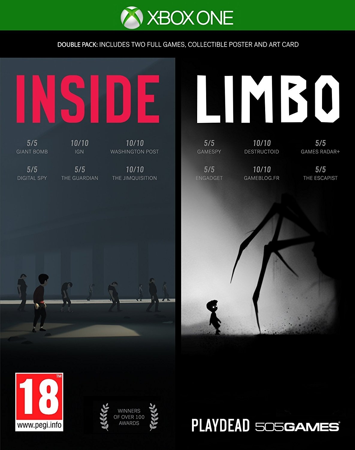 Inside/Limbo Double Pack (Xbox One)